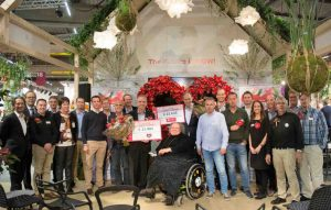 cheque hartstichting van anthurium-kwekers